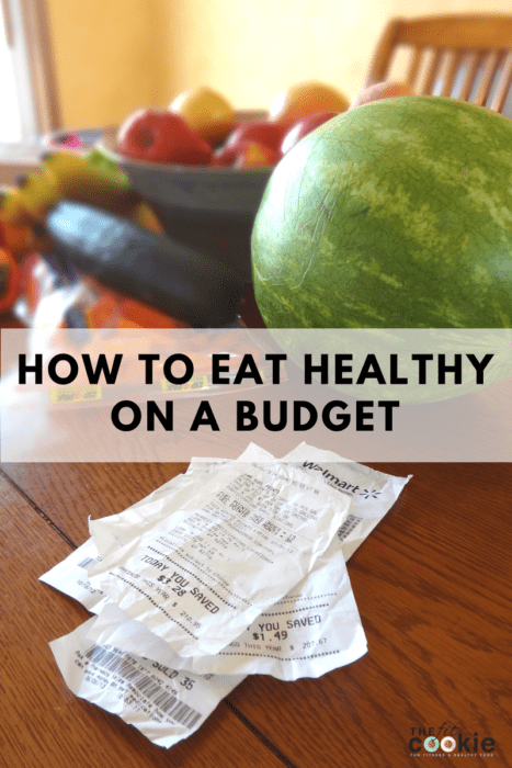 How to Eat Healthy on a Budget (Part 1)