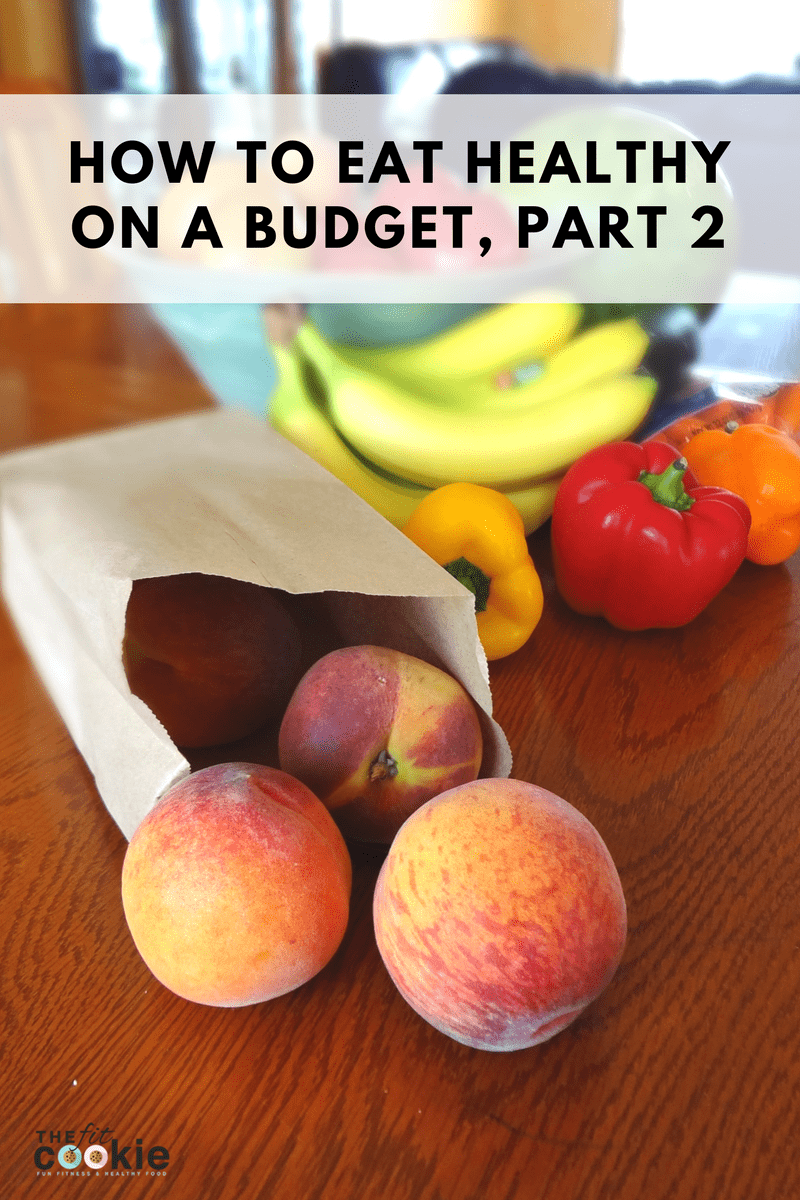 If you are on a journey to better health, buying and preparing the right food can be a challenge. Here's part 2 of how to eat healthy on a budget! Save some money on your grocery bill while keeping your eating habits smart and sensible. @TheFitCookie
