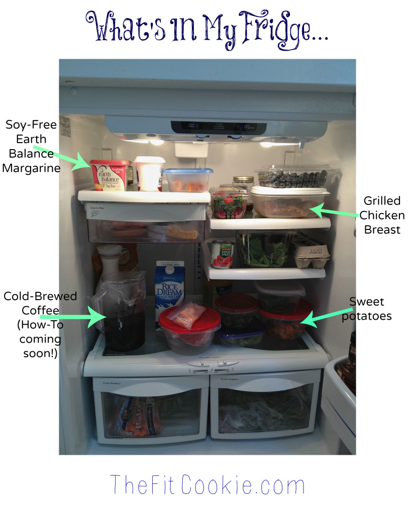 What's In My Allergy-Friendly Fridge - TheFitCookie.com