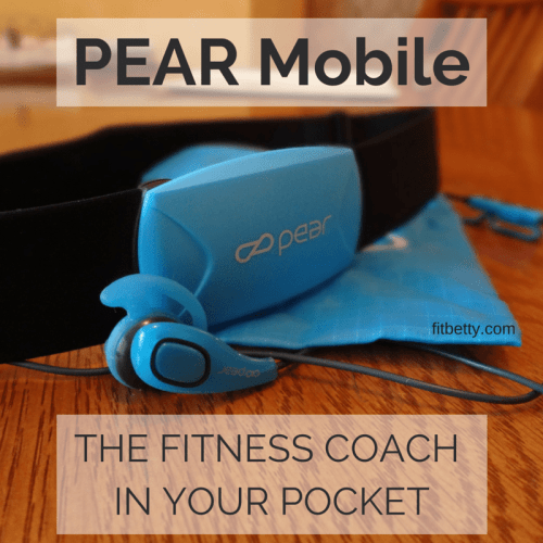 PEAR Mobile: The Fitness Coach in Your Pocket - FitBetty.com @PearSports #review #fitgear