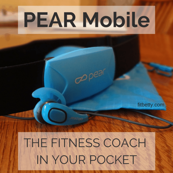 PEAR Mobile: The Fitness Coach in Your Pocket