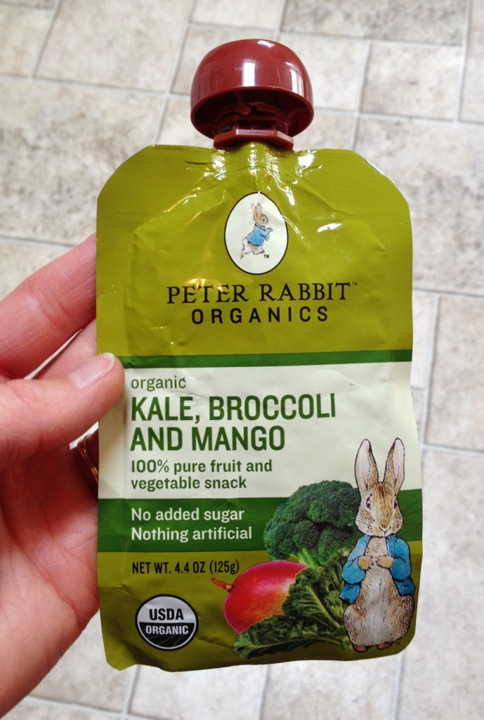 Peter Rabbit Organics Fruit and Veggie Squeeze - TheFitCookie.com
