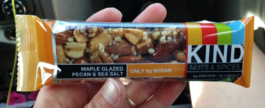 Low Sugar KIND Bar: Maple Pecan & Sea Salt - TheFitCookie.com