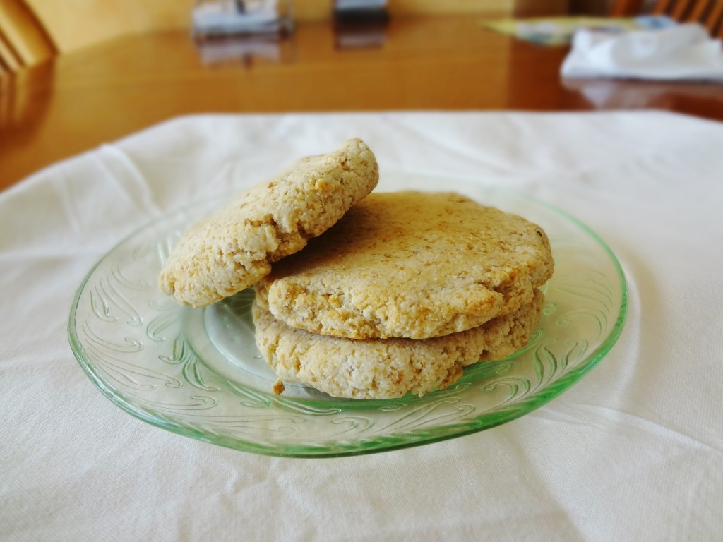 Grain-Free Coconut Biscuits - TheFitCookie.com
