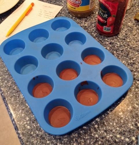 SunButter Jam Cups (Peanut Free) - @TheFitCookie #peanutfree #dairyfree #grainfree #glutenfree