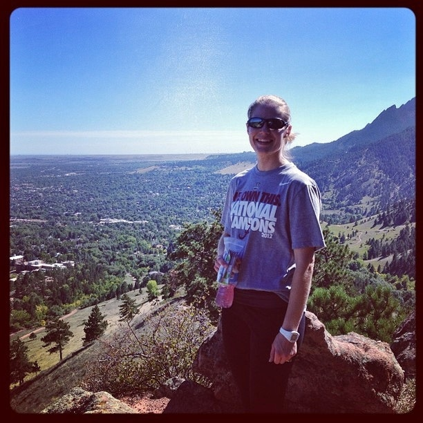 Mount Sanitas Hike - FitBetty.com
