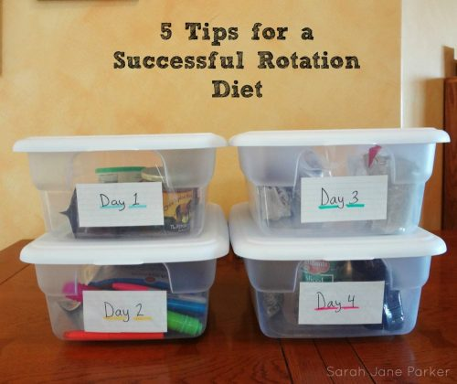 5 Tips for a Successful Rotation Diet - TheFitCookie.com