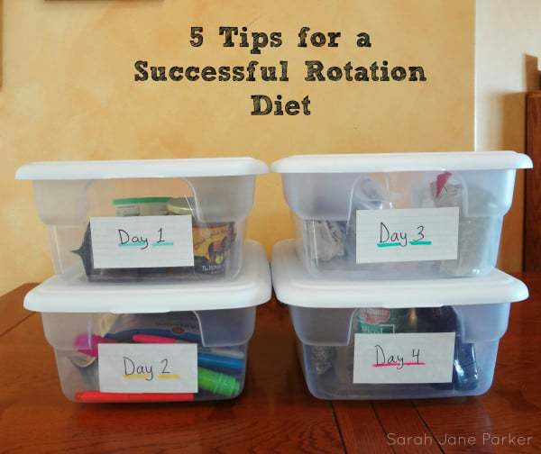 Rotation Diet Basics: 5 Tips for a Successful Rotation Diet