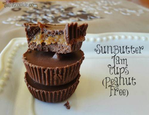 SunButter Jam Cups (Peanut Free) - TheFitCookie.com