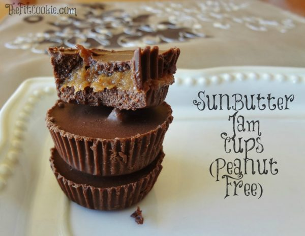 SunButter Jam Cups by The Fit Cookie