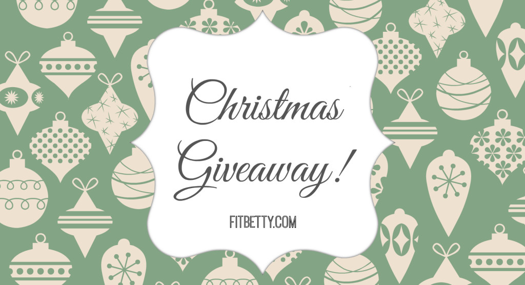 Upcoming Christmas Giveaway - FitBetty.com
