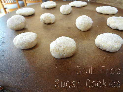 Guilt-Free Sugar Cookies - TheFitCookie