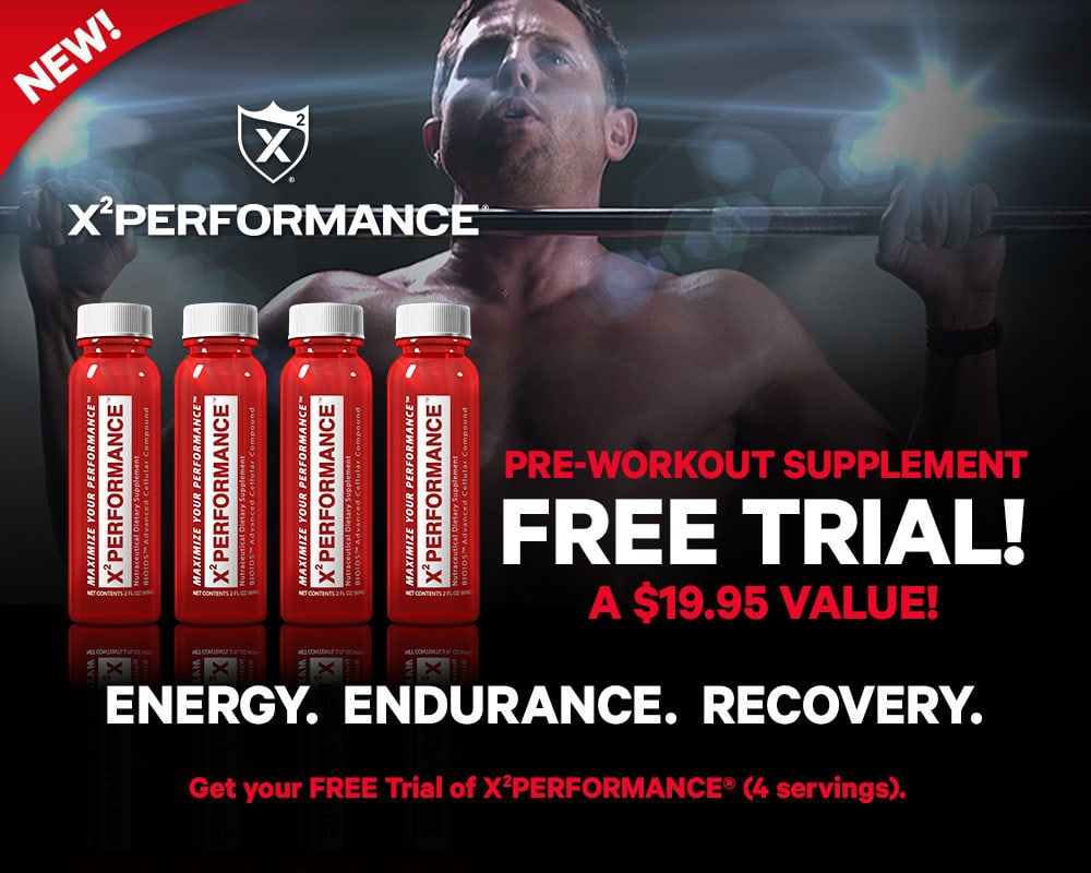 x2 Performance: natural and safe pre-workout supplement
