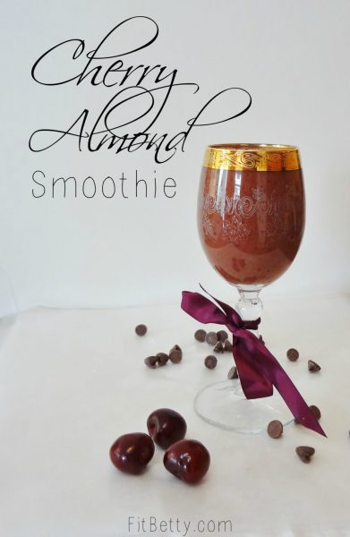 Cherry Almond Smoothie - The Fit Cookie