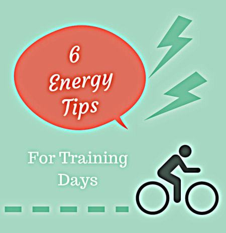 Training for a race coming up? Keep your energy levels high with these 6 essential tips for staying energized on training days - @TheFitCookie #fitness #training