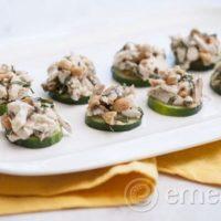 Paleo Basil Cashew Chicken Salad by eMeals - TheFitCookie.com