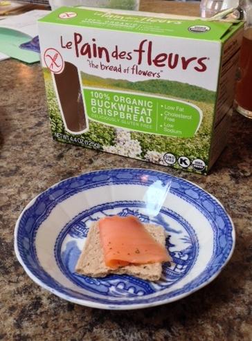 What's Cooking: Le Pain des Fleurs Gluten-Free crispbread - TheFitCookie.com
