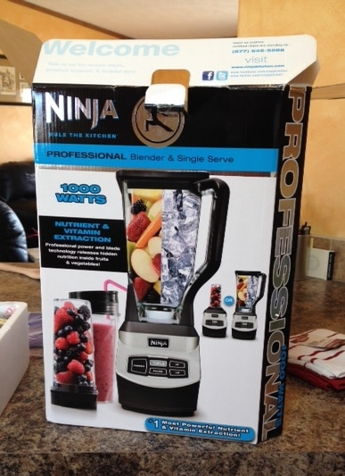 What's Cooking: Ninja Professional Blender - TheFitCookie.com