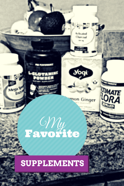 My favorite supplements label