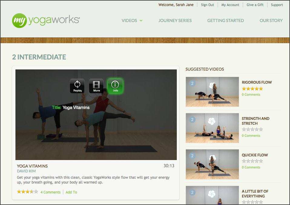 Do Yoga Anywhere with MyYogaWorks {Review & Discount} - FitBetty.com