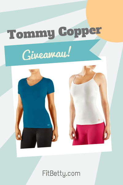Tommy Copper giveaway