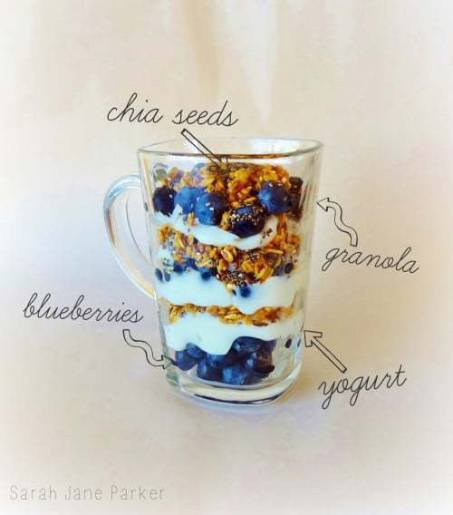 Gluten Free Breakfast Parfait Recipe (and 5 ways to start your morning off right!) - @TheFitCookie