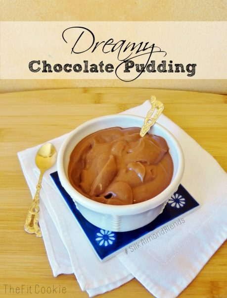 Dreamy Chocolate Pudding with #SilkAlmondBlends - @TheFitCookie #CollectiveBias #shop