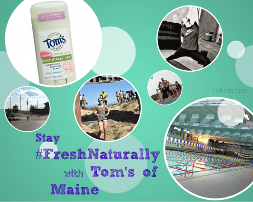 Stay #FreshNaturally this Summer with Tom's of Maine - FitBetty.com #CBias #shop
