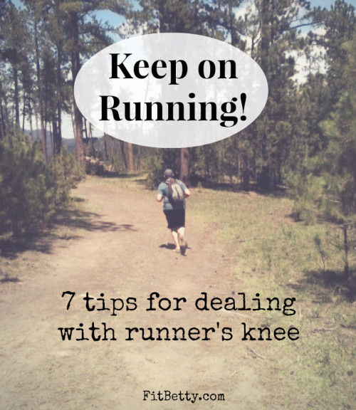 Keep on Running! 7 Tips for Dealing with Runner's Knee - FitBetty.com @ACE_Brand #ad #sponsored