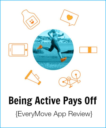 Post image for Being Active Pays Off! {EveryMove App Review}