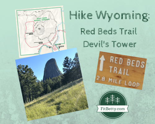 Post image for Hike Wyoming: Red Beds Trail Devil's Tower