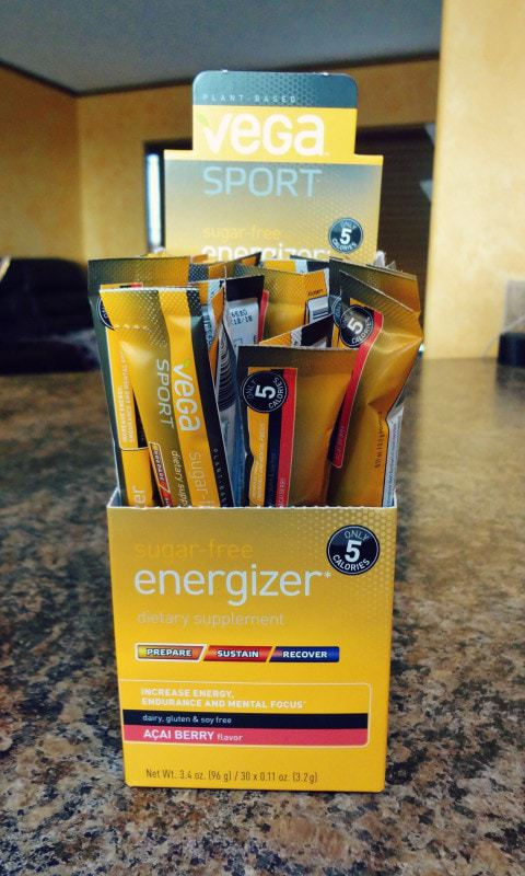 Discover Clean Energy: Vega Sport Sugar Free Energizer Review - product packaging