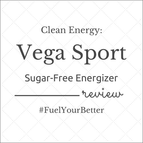Discover Clean Energy: Vega Sport Sugar Free Energizer Review | thefitcookie.com #ad #FuelYourBetter #nutrition #fitness