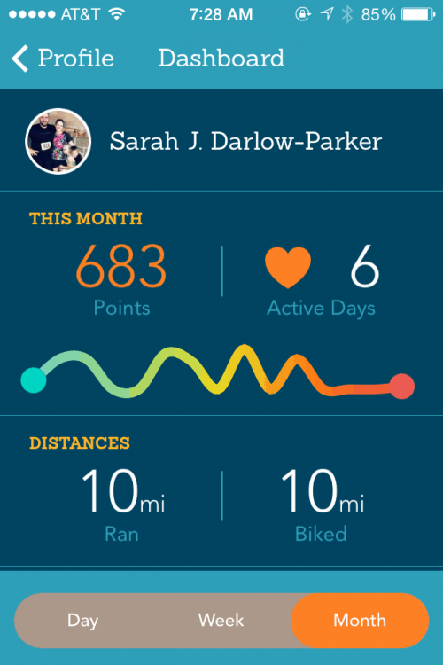 Being Active Pays Off! {EveryMove App Review} - FitBetty.com #sweatpink #everymove