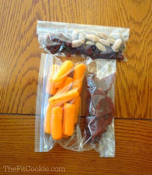 Healthy Travel Snack Packs {with Blue Diamond Almonds} - TheFitCookie.com @BlueDiamond #travel #snacks