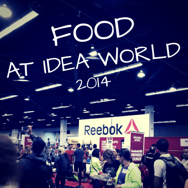 Food at IDEA World!