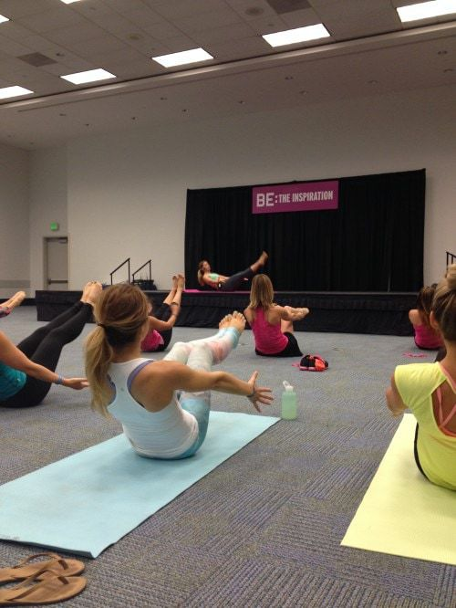 IDEA World and BlogFest 2014 - FitBetty.com #IDEAWorld #Blogfest @SweatPink