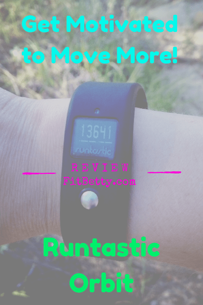 Post image for Get Motivated to Move with Runtastic Orbit {Review}