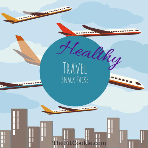 Healthy Travel Snack Packs {with Blue Diamond Almonds} - TheFitCookie.com @BlueDiamond #travel #snacks