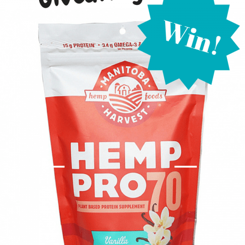HempPro 70 Giveaway - @Fit_Betty #giveaway @ManitobaHarvest