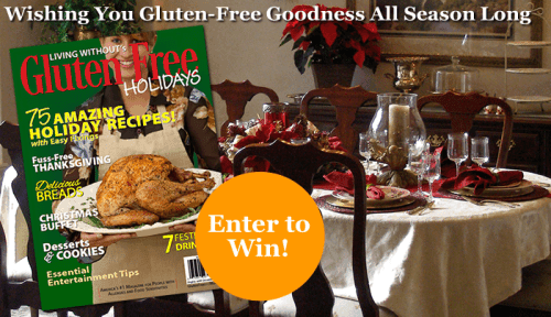Gluten Free & More Holiday Guide Giveaway - @TheFitCookie #giveaway @Living_Without