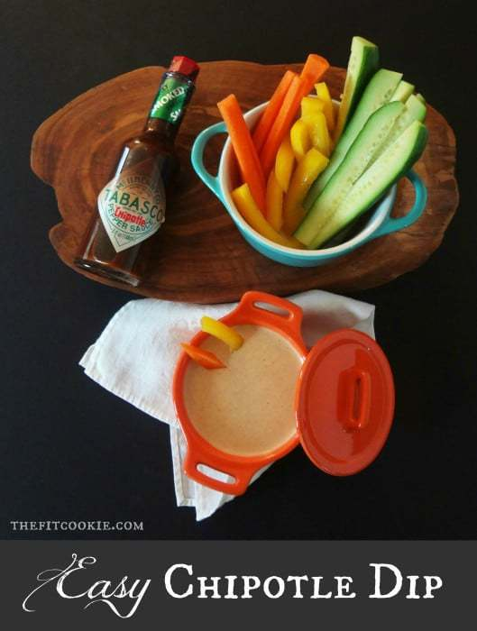Easy Chipotle Dip & Chipotle Mashed Sweet Potatoes