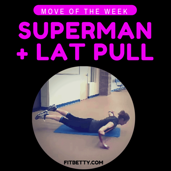 Move of the Week: Superman + Lat Pull