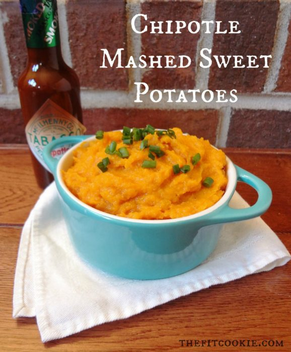 Make holiday cooking easier with this easy Slow Cooker Mashed Sweet Potatoes! This recipe can be doubled and is gluten free and dairy free. - @TheFitCookie #dairyfree #glutenfree