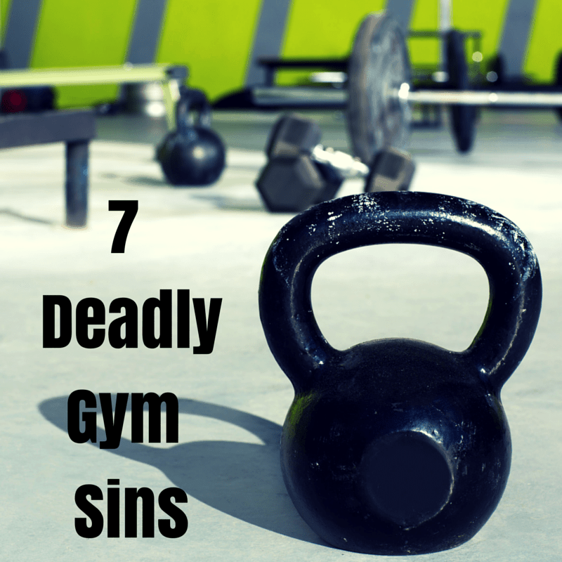 Don't Be a Gym Troll: 7 Deadly Gym Sins to Avoid - @Fit_Betty @TheFitCookie #fitness #life