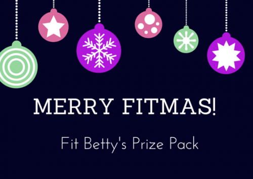Merry Fitmas! Fitness Prize Pack Giveaway