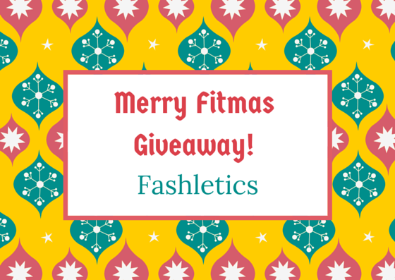 Merry Fitmas Giveaway! Day 1: Fashletics - @Fit_Betty @Fashletics #giveaway