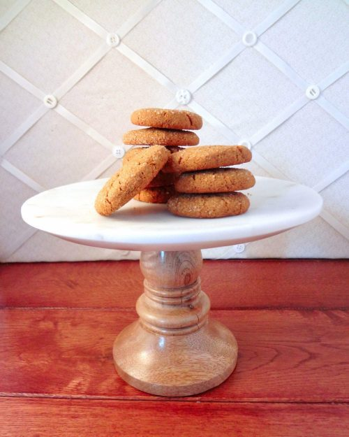 Cardamom Molasses Cookies - The Fit Cookie
