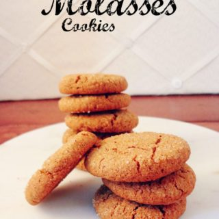 Cardamom Molasses Cookies