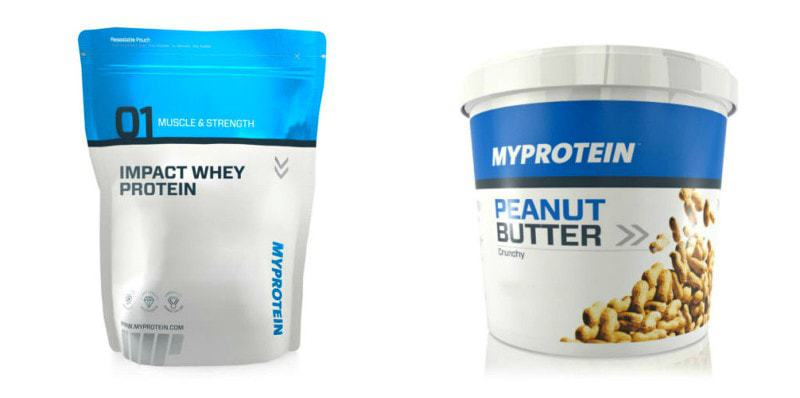 Merry Fitmas Day 3: @MyProteinUSA protein & PB #Giveaway! @Fit_Betty #win